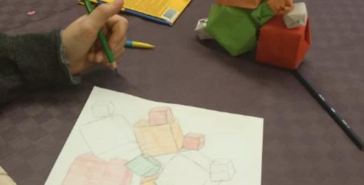 Architecture et origami, Mon mercredi architecture avec le CAUE 25